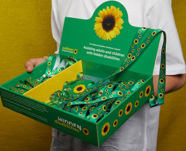 The Sunflower Hidden Disabilities lanyard. PHOTO: SUPPLIED