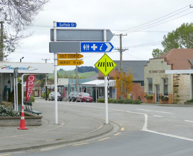 Tapanui's main street may be in line for an upgrade next year, depending on the outcome of a...