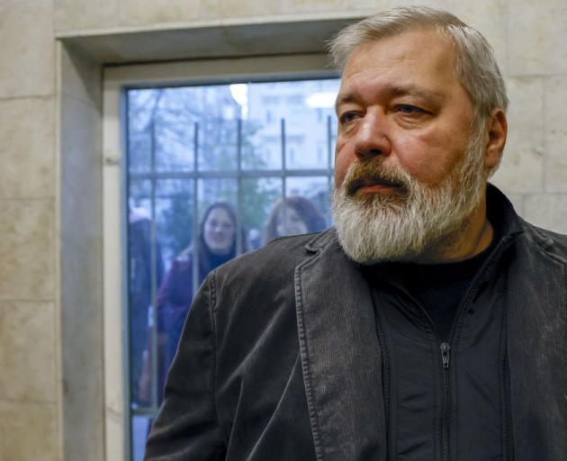 Novaya Gazeta newspaper editor-in-chief Dmitry Muratov. Photo: Getty Images