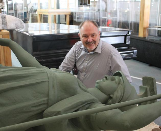 Southland and Museum Art Gallery manager Wayne Marriott is looking forward to having Minerva on...