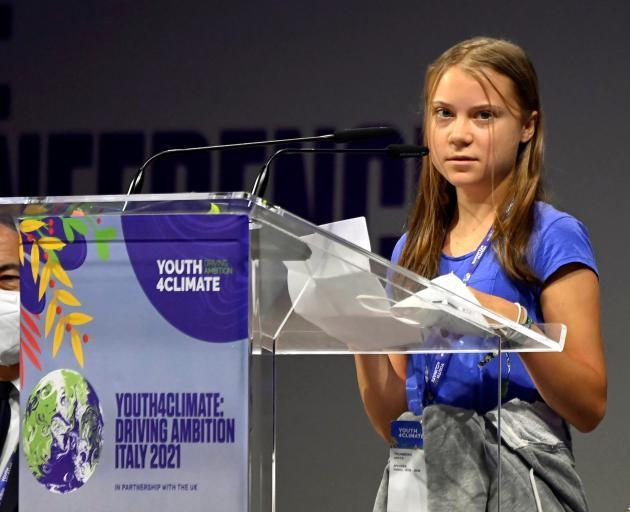 Greta Thunberg. Photo: Reuters