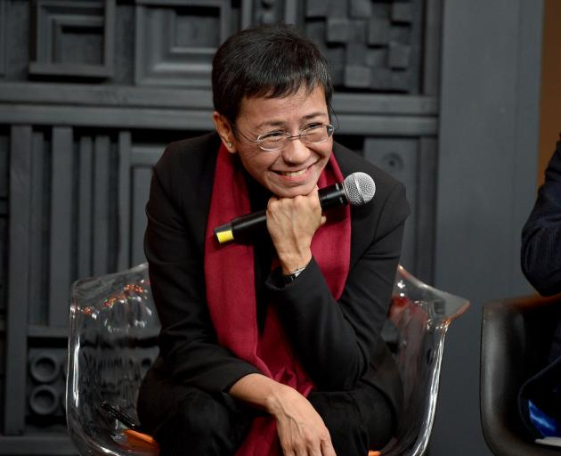 Maria Ressa (58), is the first individual winner of a Nobel prize in any field from the Philippines. Photo: Getty Images