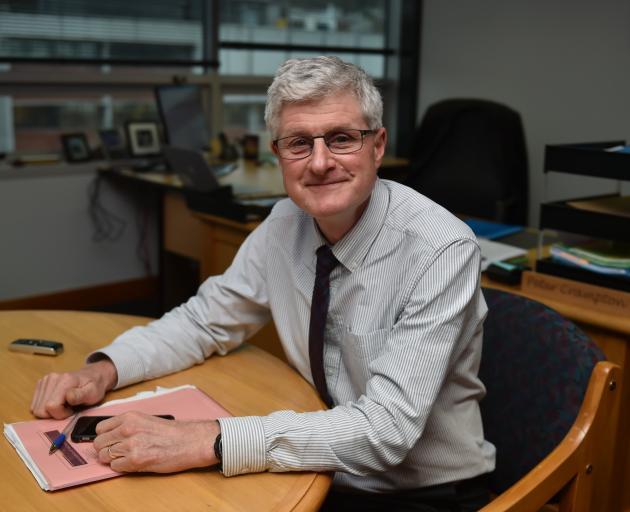 Professor Peter Crampton. Photo: Gregor Richardson