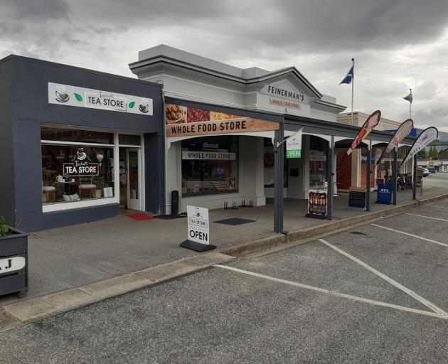 There are many interesting shops in Roxburgh, including the Teviot Tea Store and Feinerman's...