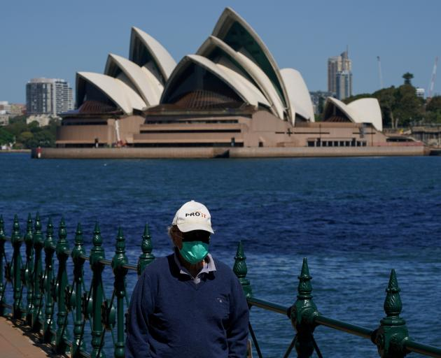 Australia had stayed largely virus-free for most of this year until a third wave of infections...
