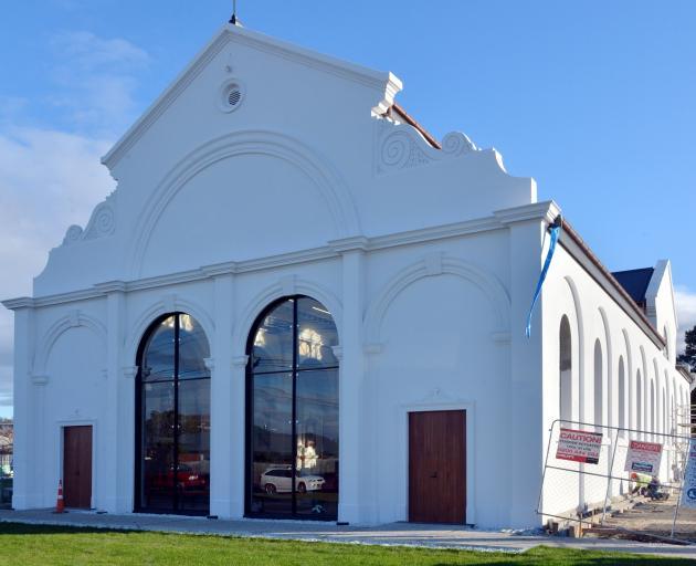 Refurbishment of St Patrick's Basilica, South Dunedin. Photo: Gerard O'Brien