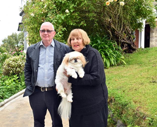 Ralph and Maerushia Scorgie share their property with cats, rabbits and their dog, Coco. They...