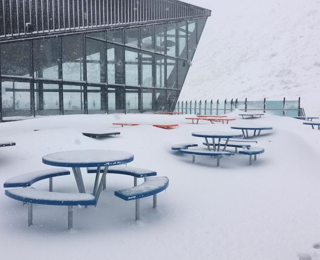 The Remarkables' base building. :Photo: supplied