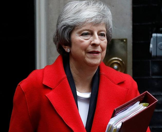 Theresa May is battling to get her Withdrawal Agreement with the EU through parliament in a vote...
