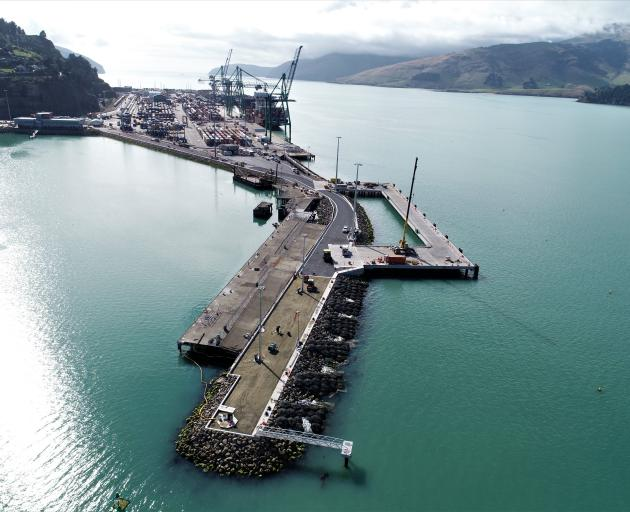 The new berth. Photo: LPC