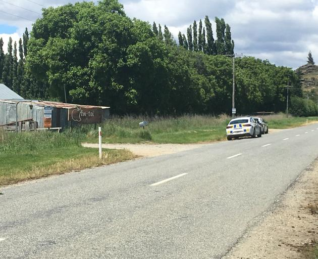 Police were called to the orchard on Monday. Photo: Adam Burns