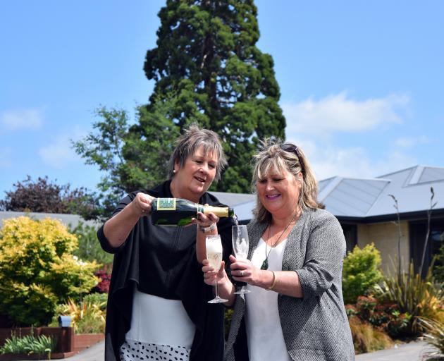 Fairfield Tavern Reunion co-organisers Lynn Patrick (left), of Mosgiel, and Carol Spalding, of...