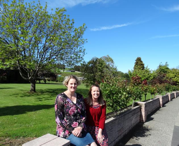 Greater Green Island Community Network workers Leanne Stenhouse (left) and Amanda Reid are continuing their work towards the future success of the network. PHOTO: STAR FILES