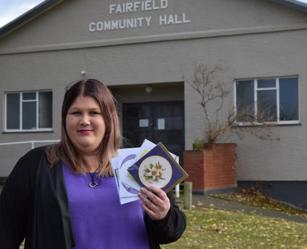 Fairfield Community Market organiser Nicole Broekhuyse, of Saddle Hill, sells her handcrafted...
