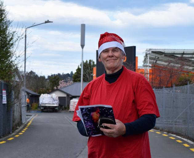 Christmas Family Fun Night co-ordinator John Bone is arranging a festive celebration for Mosgiel...