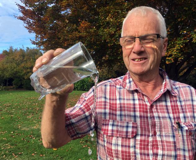 Dennis Enright wants fluoride to be removed from the Dunedin water supply. PHOTO: SHAWN MCAVINUE