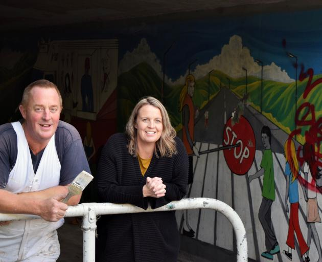 Kowhai House and Roof Painting Otago owner Scott Campbell and Greater Green Island Community...