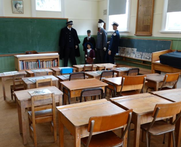 The classroom of the former Outram School.