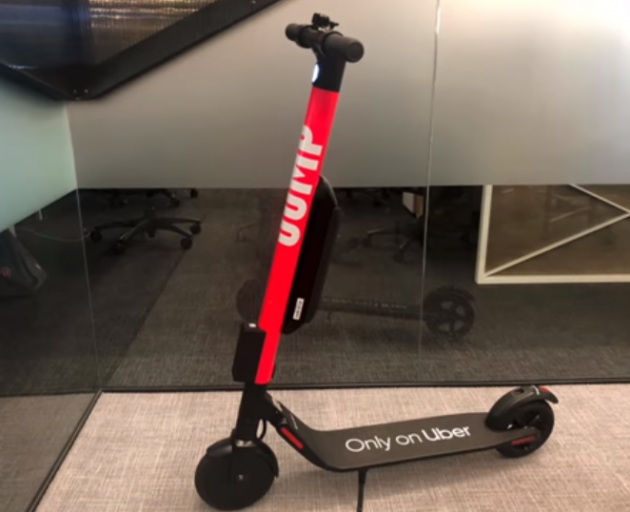About 400 of Uber's Jump scooters will be trialled on Wellington streets. Photo: YouTube