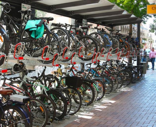 A collection of bicycles in Wellington provides an indication of the sort of facility that could...