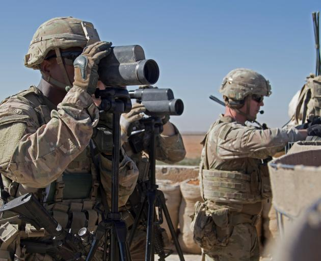 More than 2000 US troops are serving in Syria. Photo: Reuters