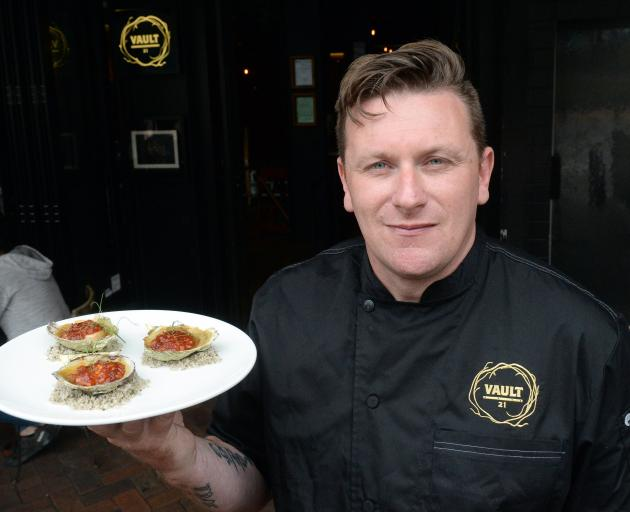 Dunedin chef Greg Piner. Photo: ODT