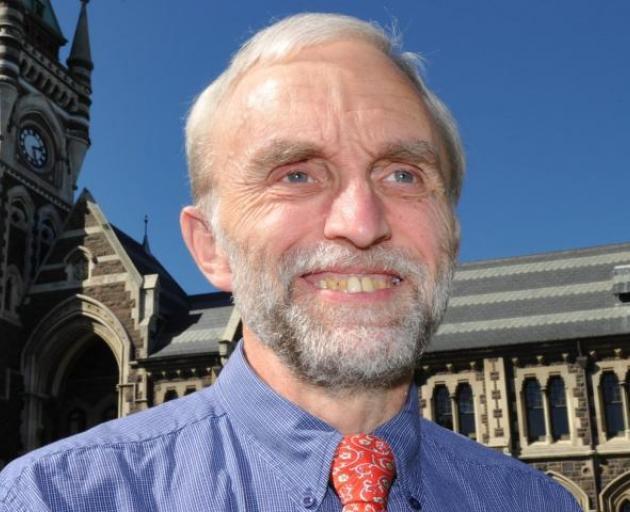 Otago University vice-chancellor Prof Vernon Squire. Photo: ODT files