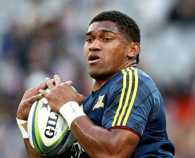 Waisake Naholo announced this week he's off to play for London Irish. Photo: Getty Images