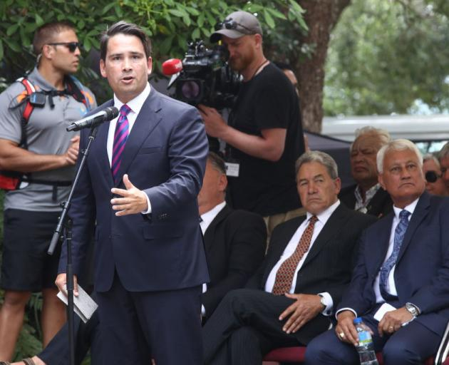 National Party leader Simon Bridges. Photo: Getty Images