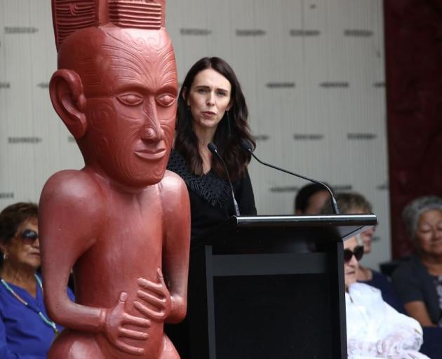 "Jacinda Ardern called the Government's work so far for Māori a ""foundation"". Photo: Getty Images"
