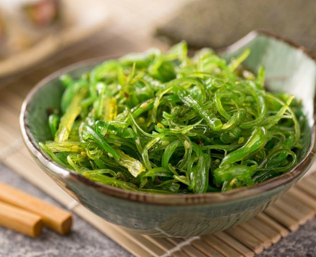Wakame seaweed. Photo: Getty Images