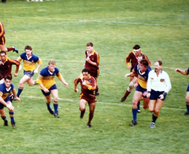 On the break for Alhambra-Union in the 1980s. Photo: ODT