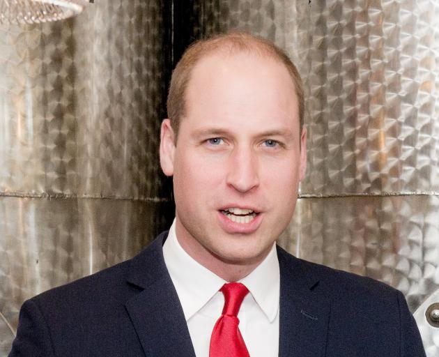 Prince William will visit New Zealand for two days. Photo: Getty Images