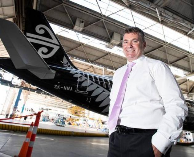 "Air New Zealand's chief revenue officer Cam Wallace: ""We know one size doesn't fit all."" Photo:..."