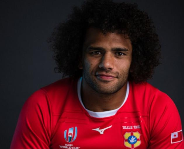 Zane Kapeli, who plays for Tonga, will join the Highlanders for 2020. Photo: Getty Images