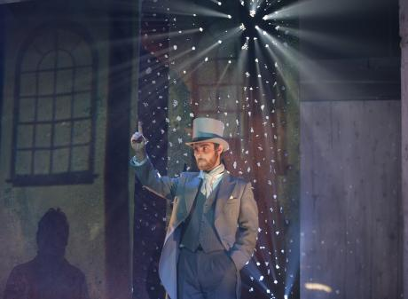 The mysterious Mr Pilgrim (Tom Clarke) takes a pivotal role in The Devil's Half-Acre, a South...