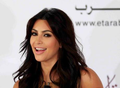 Kim Kardashian. Photo Reuters