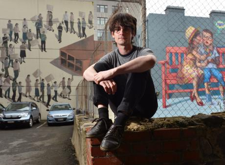 Dunedin musician Kane Strang is poised to release his second album. Photo: Gerard O'Brien.