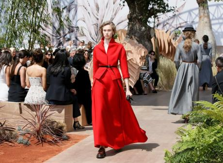 """We made the five continents come to Paris,"""" Dior CEO and Chairman Sidney Toledano said after the show. Photo: Reuters"""