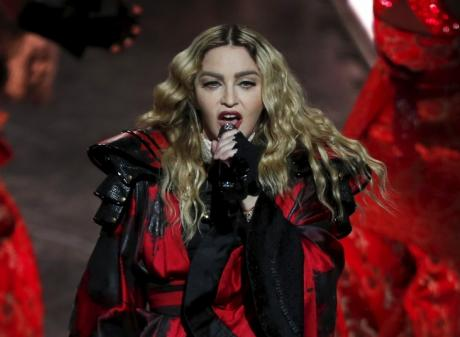 Madonna performs in Macau, China. Photo: Reuters