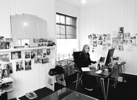 Margi in her office