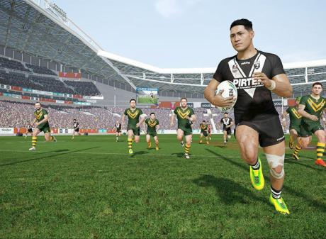 'Rugby League Live 4'. Photo: Supplied