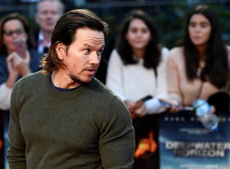 Wahlberg at the premier of 'Deepwater Horizon'. Photo: Reuters