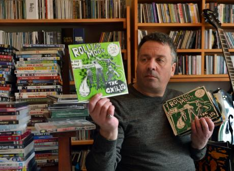 The Chills frontman Martin Phillipps consults the band archives for material to help fund a new...