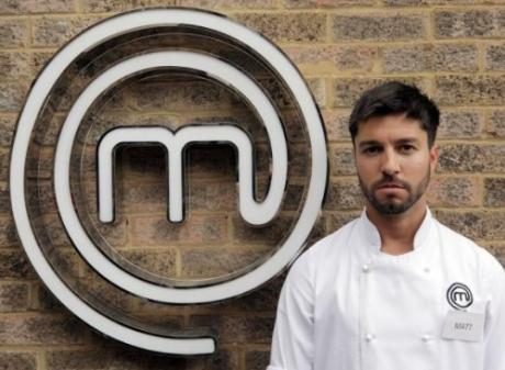 """'Masterchef: The Professsionals"""" contestant Matt Campbell died after collapsing at the London Marathon in 2018. Photo: Twitter"""
