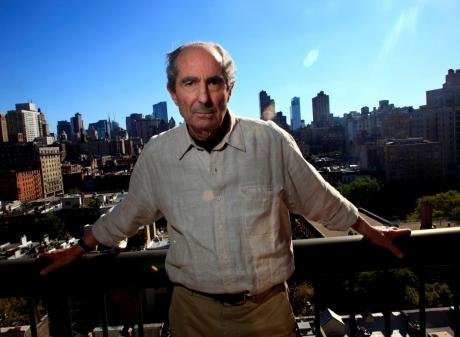 Philip Roth in New York in 2010. Photo: Reuters