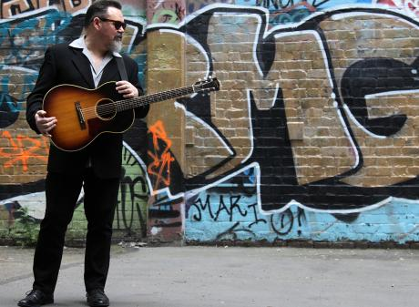 New Zealand blues musician Darren Watson. Photo: Supplied