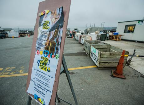 The Kiwi Bottle Drive is collecting signatures on a petition to bring back a 10c refund when...