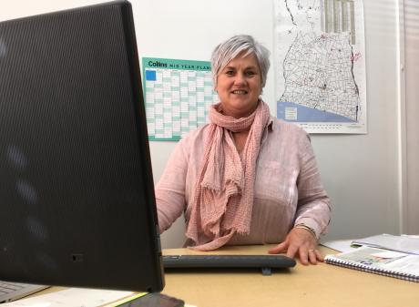 Mid Canterbury Rural Support Trust welfare co-ordinator Angela Cushnie. Photo: Toni Williams