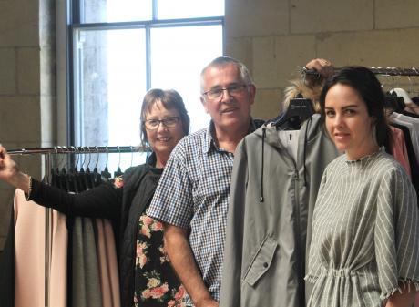 Moke's Lynn Stevens (left) director Keith Stevens and designer Anneke Stevens are moving to the...
